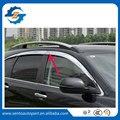 Alta Qualidade 6 Pcs Chapeamento Janela Do Carro Da Viseira Deflector de Vento Sol Guarda Chuva Defletor Para CRV 2012-2016