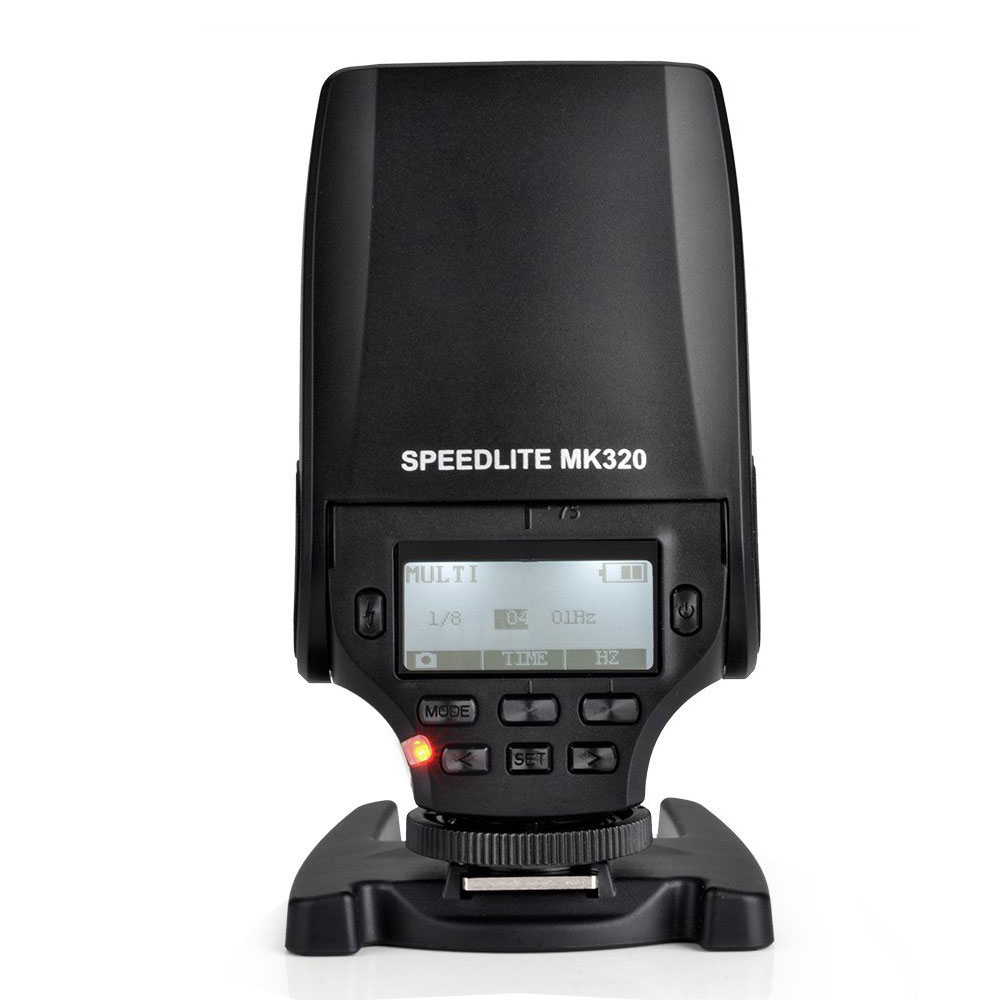 Meek MK320O TTL Flash Speedlite MK-320 pentru Olympus E-M10 OM-D E-M5 II E-M1 PEN E-PL6 E-PL7 E-P5 E-PL5 E-PM2 E-P3 E-PL3 E-PM1