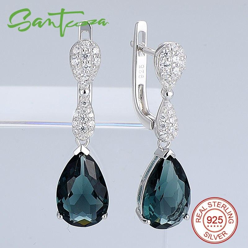 Silver Earrings E303468BLGZ1SL925-SV8