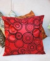 оптовая новое прибытие классический дизайн шелковый чувствовать украшение гостиной диван стул подушку чехлы