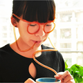 Funny Soft Cold Drinking Straw Glasses Flexible Drinking Tube Toys Gift Beach Party Accessory