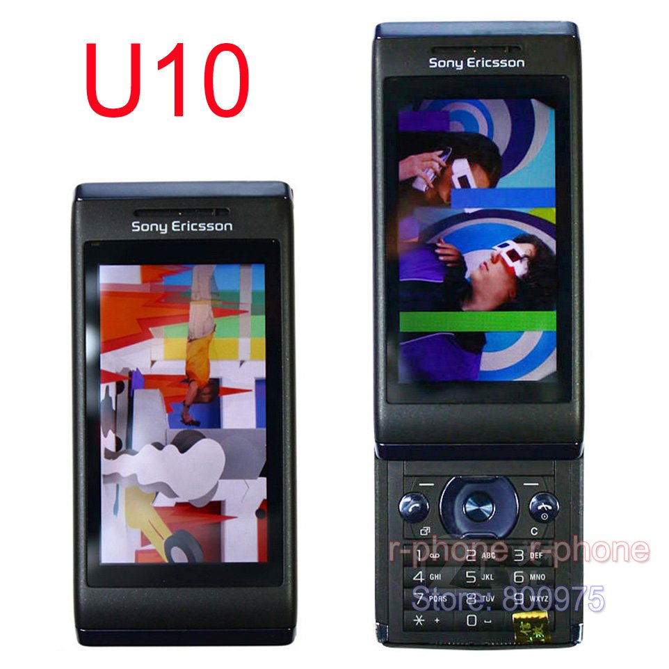 U10i Original NEW Sony Ericsson Aino u10 Mobile Phone 3G 8.1MP WIFI GPS  Bluetooth Unlocked U10 Cellphone & One Year Warranty