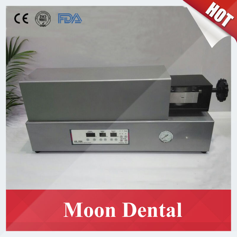 CE Approved Dental Lab Equipment AX-YDA Automatic Denture Injection System Machine Muffle for Making Valplast Denture Teeth недорого