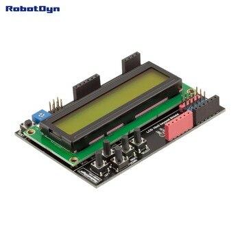 LCD keypad Shield, 1602 display, for Arduino LCD Shield GREEN SCREEN shoulder bag