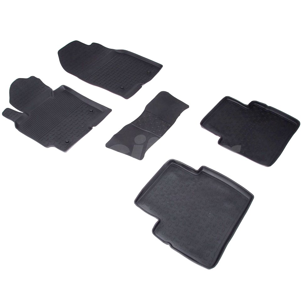 цена на Rubber floor mats for Mazda CX5 2012 2013 2014 2015 2016 Seintex 82717