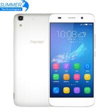 "Original Huawei Honor 4A 4G LTE Mobile Phone 2G RAM 8GB ROM IPS EMUI 3.1 MSM8909 Quad-core 5"" 2200mAh 1280x720 8MP Camera"