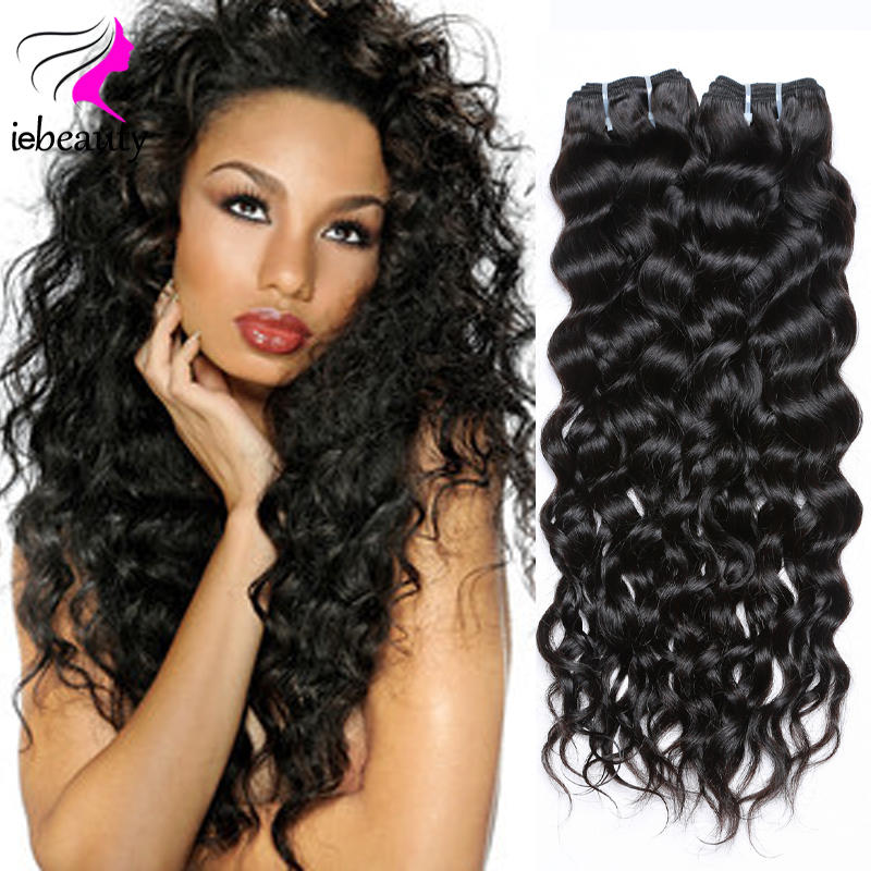 4 Bundles Raw Virgin Indian Hair Natural Wave 100 Human