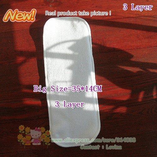3 слоя вставки Детские Подгузники Большой размер 30 фото лучшее качество для ребенка используется. Детские подгузники