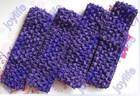 """60 шт. 1,"""" вязанные крючком повязки вафельные повязки для девочек повязка на голову"""