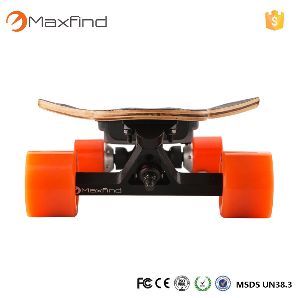 Maxfind Electric Skateboard Longboard 4 wheels hub motor Samsung battery for adults electric skateboard hoverboard longboard diy single drive remote skatebord kit with hub motor wheels pu wheels and trucks