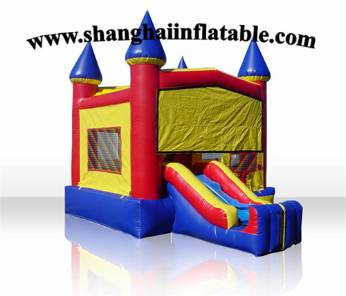 high quality outdoor playground slide inflatable bounce house with slide for salechina - Bounce House For Sale