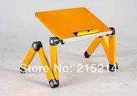 горячая распродажа : красочные алюминиевого сплава, складной компьютерный стол, портативный ноутбук стенд, для iPad стол, складной стол