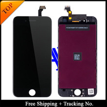 Free Shipping + Tracking No. 100% tested For Brand new 5.5′ for iPhone 6 plus LCD screen display digitizer Assembly-White/Black