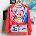 Batman Suicide Squad Harley Quinn  Cosplay Hoodies  Halloween female Daddy's Lil Cosplay Monster Sweater Christmas Gift CS25070