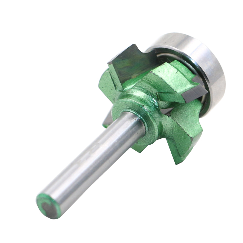 1/46.35mm R3 four teeth trimming knife woodworking milling cutter with bearing wood router