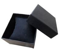 12 шт./лот чистый 3 цветов мода часы коробка подарок коробка для часов оптовая продажа бесплатная доставка
