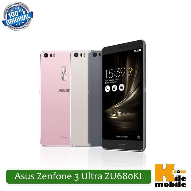"bilder für Original Asus Zenfone 3 Ultra ZU680KL 6,8 ""64 GB ROM 4 GB RAM Snapdragon 652 Dual Sim 23MP 4600 mAh 4g LTE Smartphone"