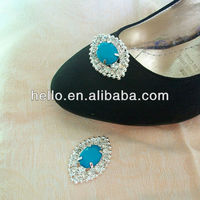 бирюза гр rustle кристалл туфли для невесты клипы, украшения обуви, обуви для аксессуары