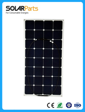 Boguang 4 pcs 100W pv flexible solar panel module cell worked as battery charger Camping RV
