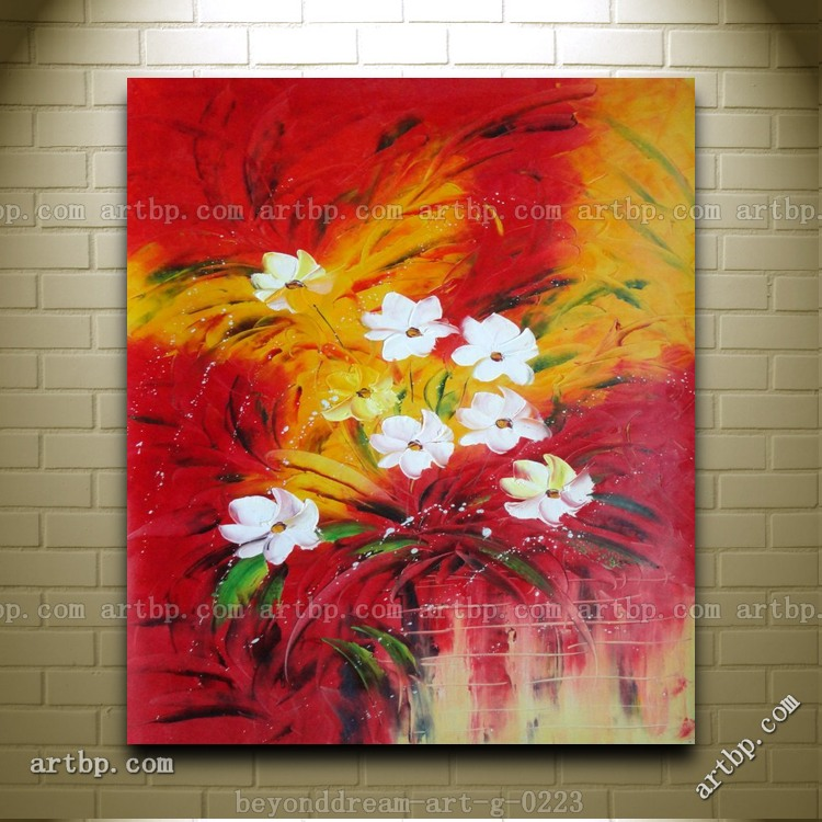 The Best Time Of Life Oil Painting Impressionism Flower Canvas Ideas Realistic Abstract Free Shippi In Calligraphy From
