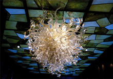 Turkish Style Well Designed Energy Saving LED Crystal Blown Glass Smart Chandelier for Home Decoration