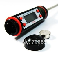 400 шт./лот, цифровой термометр, для кулинарные кухня еда, мясо, молоко, - 50 - 300 градусов