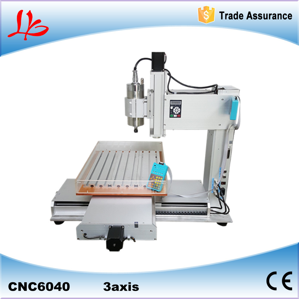 high performance pillar type CNC 6040 3 axis engraving machine table column type mini CNC router