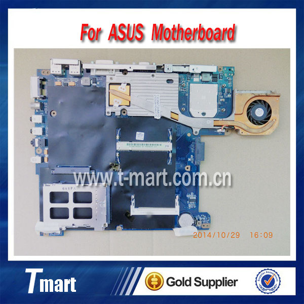 ФОТО 100% Original  for ASUS A6T laptop motherboard good condition working perfectly