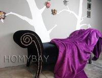 бесплатная доставка 150 * 200 см ватки ленты одеяло / бросьте / бренд класса люкс уютный текстиль ватки одеяло