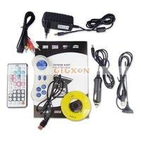 """7.5 """" порт и флип портативный проигрыватель DVD с тв-плеер / USB кабель / игры"""