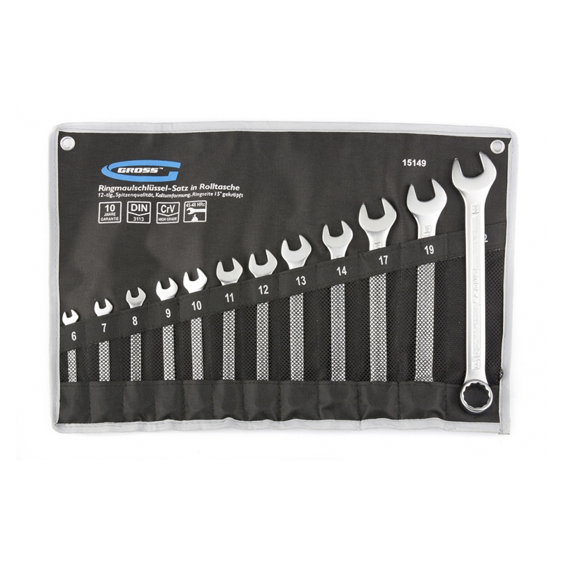 Wrench set GROSS 15149 the wrench gross 15564