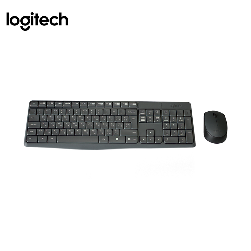 Wireless combo Keyboard+mouse Logitech MK235 Officeacc arrival original genuine logitech mk270 desktop combo usb wireless mouse