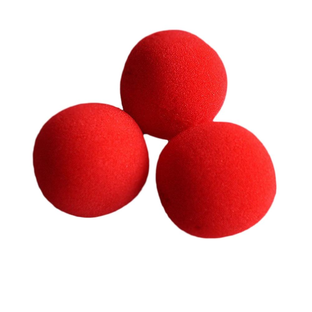 high quality 4 5cm New Fashion Close Up Magic Sponge Ball Brand Street Classical Comedy Trick