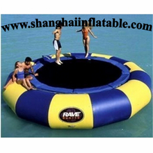 2016 Inflatable Water Sport Games/ inflatable aqua amusement park/ Inflatable Water Trampoline/inflatable jumping bed game