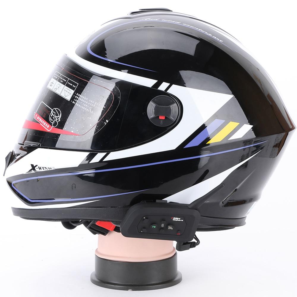 2 հատ Fodsports V4 Motorcycle սաղավարտ Bluetooth Bluetooth - Պարագաներ եւ պահեստամասերի համար մոտոցիկլետների - Լուսանկար 6