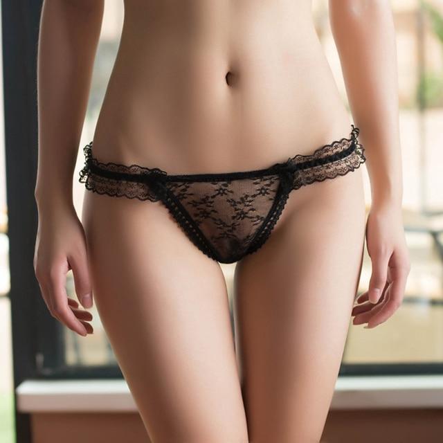 Sexy see through thong