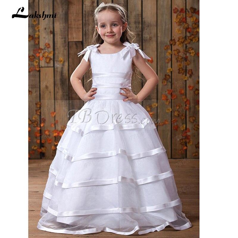 Платья из органзы для девочек фото