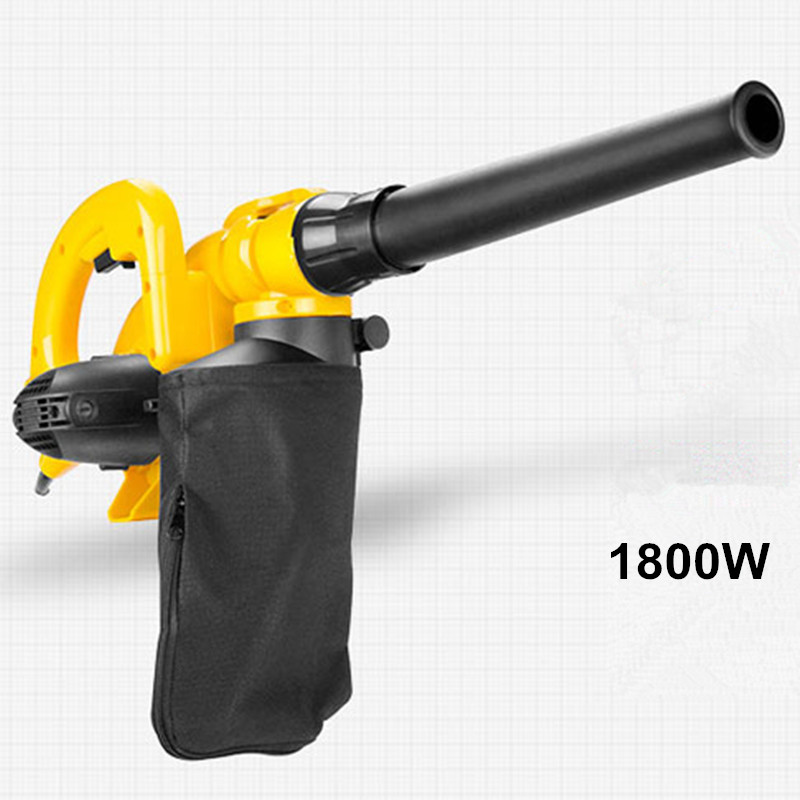 1800W Variable Speed Dust Collector Electric Blower Dust Cleaning Machines Blowing And Suction Dual Purpose Cleaning Tools  цены