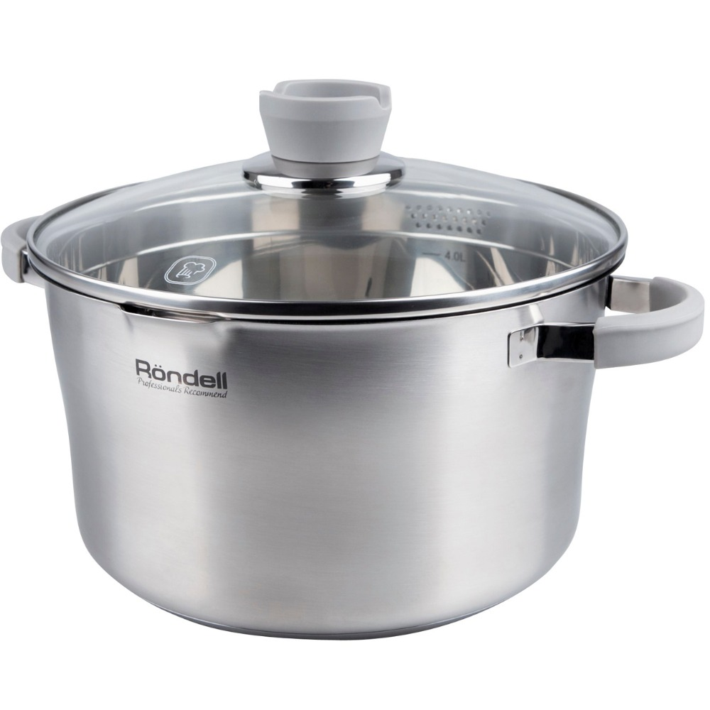 Casserole with lid Rondell Favory RDS-741 набор посуды rondell rds 743 favory