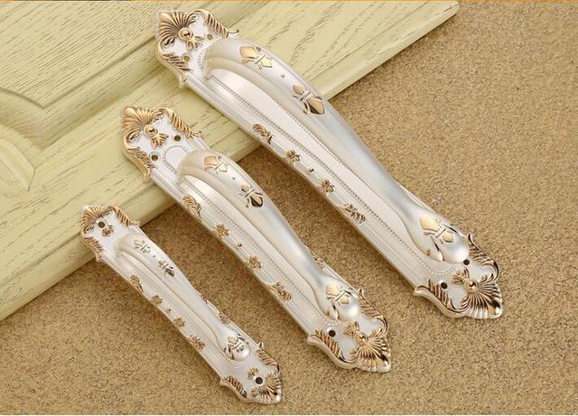 Lvory Cor Branca Puxadores de Armário e Móveis Puxadores Puxadores Puxadores e Maçanetas Alta Qualidade