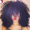 Short Curly Hair Wigs Lace Front Human Hair Wig Glueless Curly Mongolian Virgin Lace Wigs Baby Hair Around  For Black Women