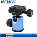 MENGS DH-5 Camera Tripod Ball Head Ballhead Monopod With Quick Release Plate For Video Camera DSLR(14110000501)