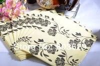 винтажный цветочный салфетки 20 листов для свадьба украшение пари подарки материал поставки розниц
