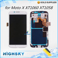 Lcd display For Motorola MOTO X 1060 XT1058 XT1056 XT1053 screen+ touch digitizer + frame 1 piece free shipping