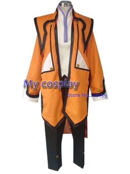 Tales of the Abyss Refill Sage мужской косплей костюм мужской костюм костюмы на Хэллоуин пальто+ куртка+ брюки