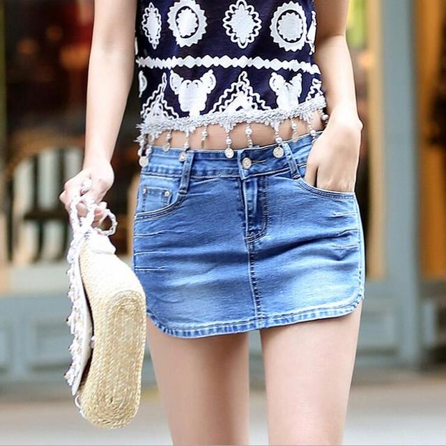 #3314 Джинсовые шорты юбки Летние шорты feminino 2016 Горячая Тонкий Мода Pantalon femme Sexy шорты женские Плюс размер