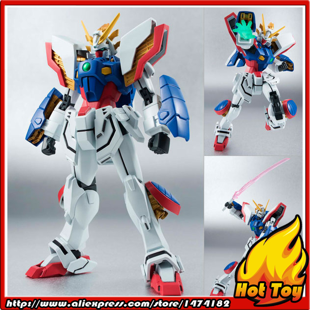 100% Original BANDAI Tamashii Nations Robot Spirits No.178 Action Figure - Shining Gundam from Mobile Fighter G Gundam japanese anime original bandai tamashii nations gundam z robot spirits no 171 z gundam action figure