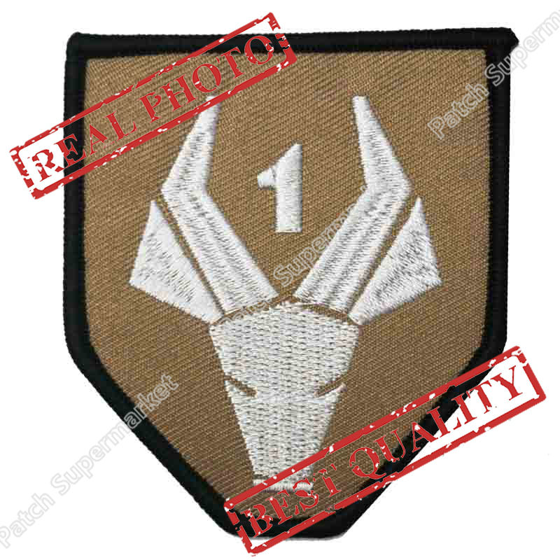 District 9 Nine Emblem Prop Embroidered Iron On Patch For Humans