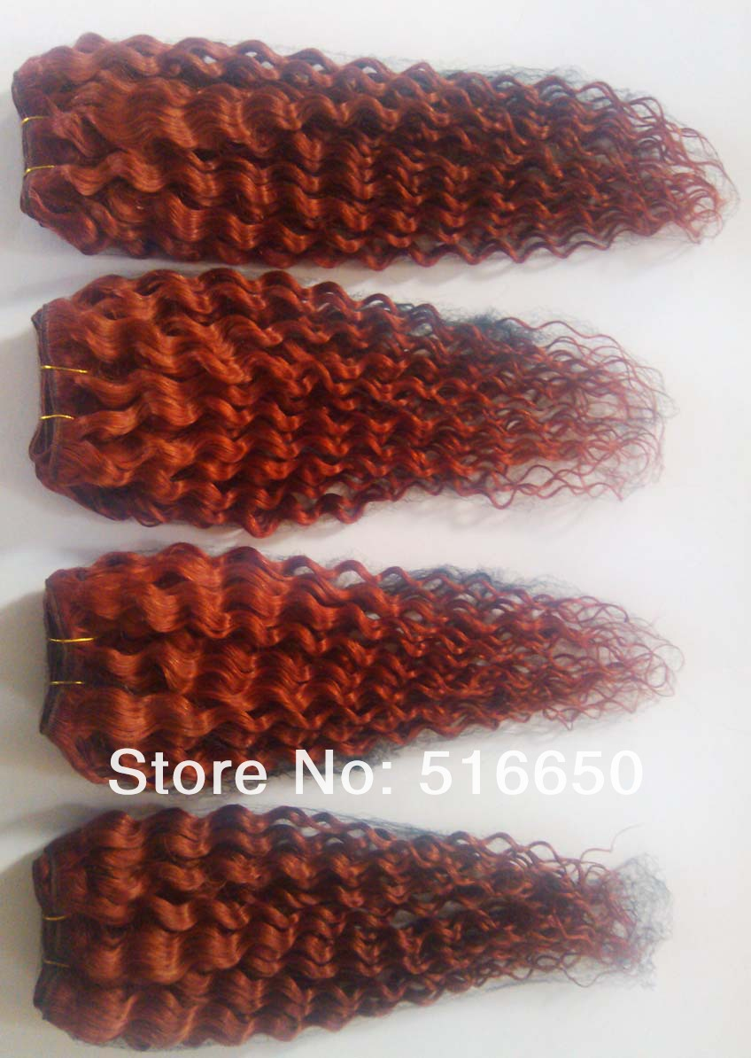 Oo Cheap 4pcslot 400g Mix Order Color 350 Weaving Hair Deep Curly