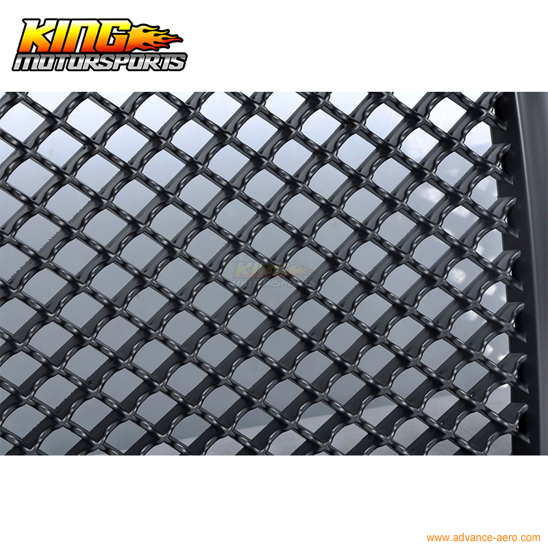 For 11 14 2011 12 Dodge Charger Front Bumper Mesh Grill Hood ...